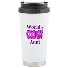 World's Coolest Aunt Travel Mug
