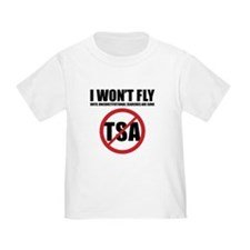 I won't fly [no TSA] T