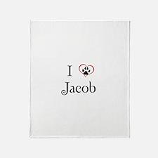 Love Jacob Twilight Throw Blanket