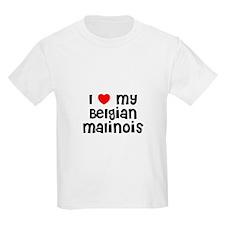 I * my Belgian Malinois Kids T-Shirt