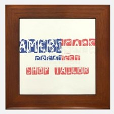 America's Greatest Shop Tailor Framed Tile
