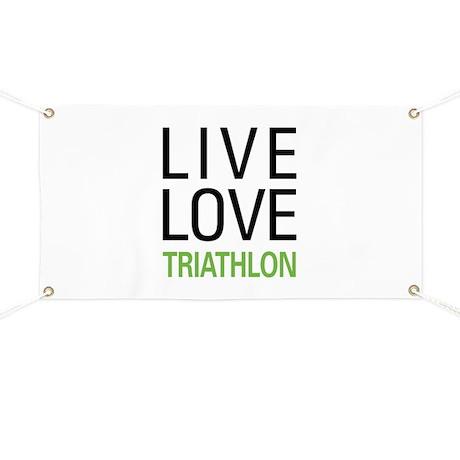 Live Love Triathlon Banner