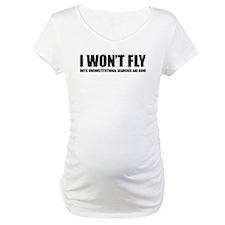 I won't fly Shirt