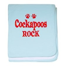 Cockapoo baby blanket