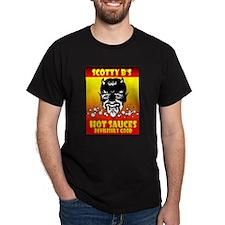 Black T-Shirt /w Scotty B's devilish design