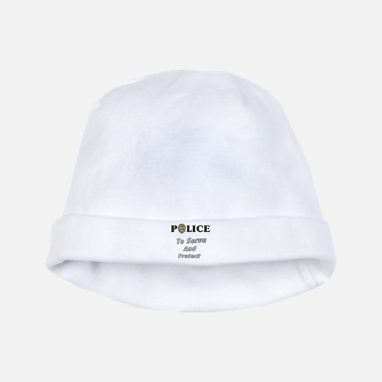 Police Service baby hat
