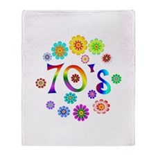70s Throw Blanket