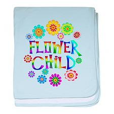 Flower Child baby blanket