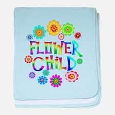 Flower Child baby blanket