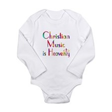 Christian Long Sleeve Infant Bodysuit