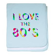 Love 80's baby blanket