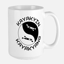 kayak yin yang Mug