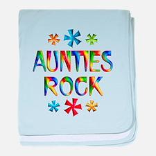 Auntie baby blanket