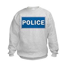 Police Theme Sweatshirt