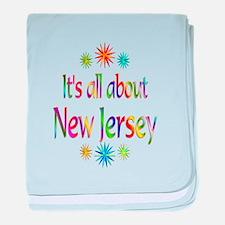 New Jersey baby blanket