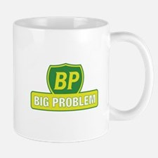 BP Oil Spill Vintage Yellow Mug