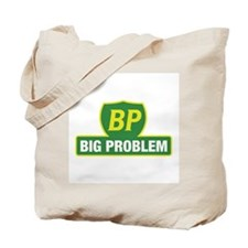 BP Oil Spill Vintage Green Tote Bag