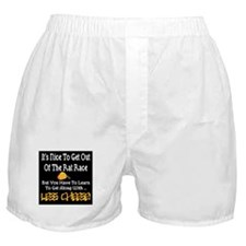 Rat Race Retirement Boxer Shorts