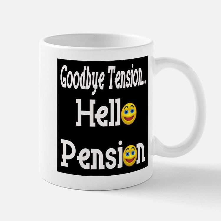 Retirement Pension Mug