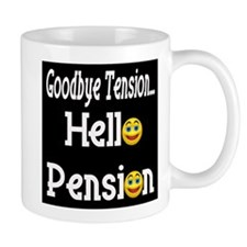 Retirement Pension Small Mug