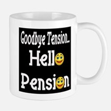 Retirement Pension Small Small Mug