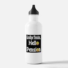 Retirement Pension Water Bottle