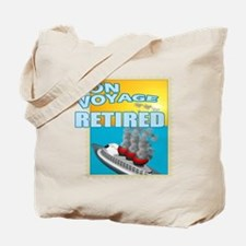 Retirement Travel Tote Bag