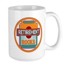 Retirement Rocks Mug