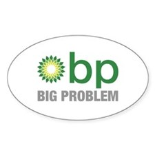 BP Oil Spill New 2 Decal