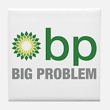 BP Oil Spill New 2 Tile Coaster