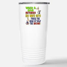 Retirement Income Travel Mug
