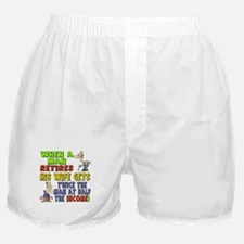 Retirement Income Boxer Shorts
