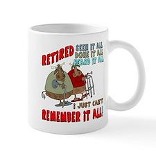 Retirement Memory Mug