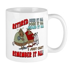 Retirement Memory Small Mug