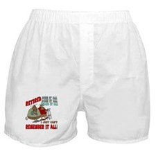 Retirement Memory Boxer Shorts