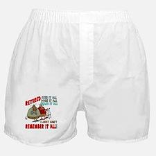 Retirement Memory Boxer Shorts