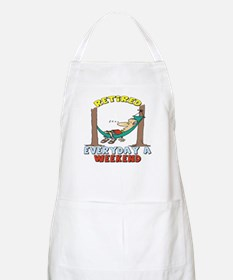Retirement Days Apron