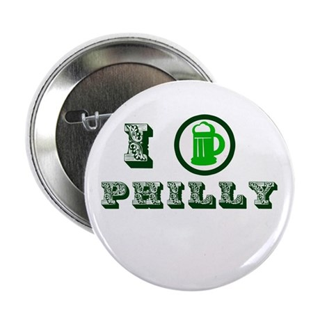 St Patricks Philly Button
