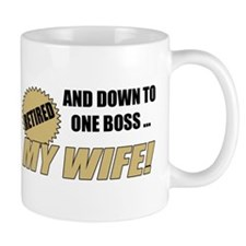Retired With One Boss Mug