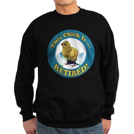 Retired Chick Sweatshirt (dark)