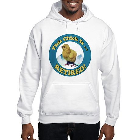Retired Chick Hooded Sweatshirt
