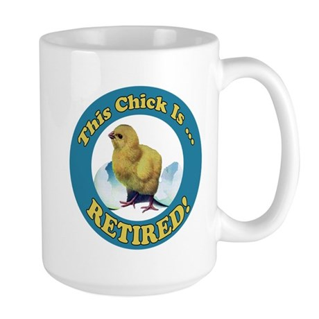 Retired Chick Large Mug