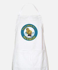 Retired Chick Apron