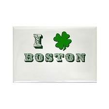 St Patricks Boston Rectangle Magnet