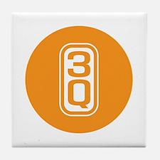 3Q,THANK YOU Tile Coaster