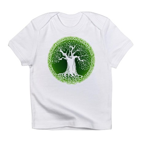 Green2 Celtic Tree Infant T-Shirt