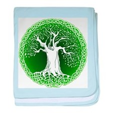 Wisdom Tree baby blanket