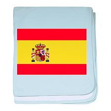 Bandera de España baby blanket