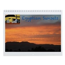 Egyptian Sunsets--Wall Calendar