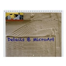 Egyptian Details--Wall Calendar